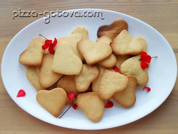 Песочное печенье самый простой рецепт