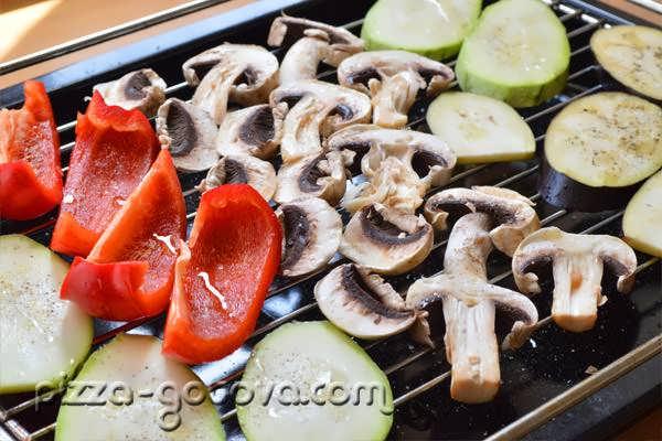 Kak prigotovit ovoshchi gril v dukhovke