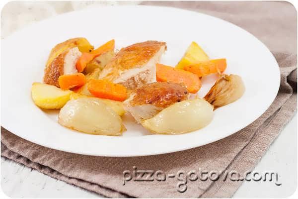 Как вкусно приготовить курицу в духовке фото