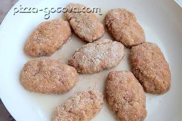 котлеты из кабачков рецепт с картофелем