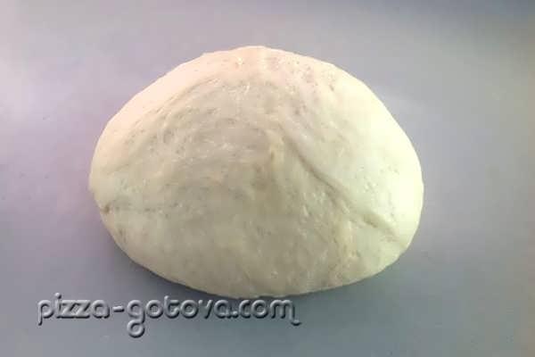 Мягкое тесто для пиццы