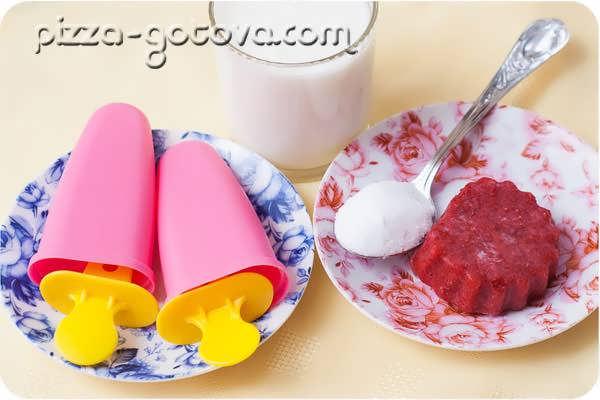Необходимые продукты для мороженого