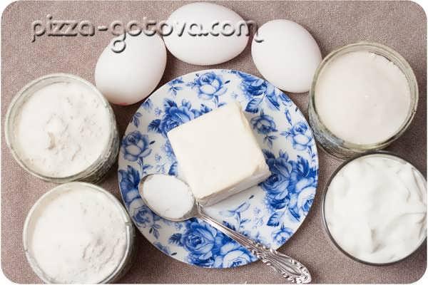 Продукты для приготовления вафель