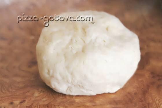 Тесто из кислого молока