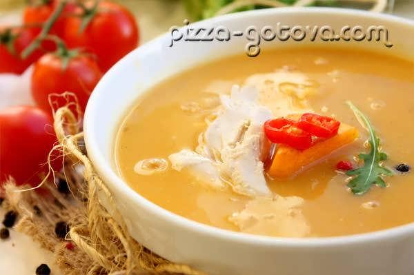 Тыквенный суп рецепт фото