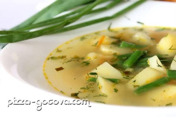 Диетический суп, фото
