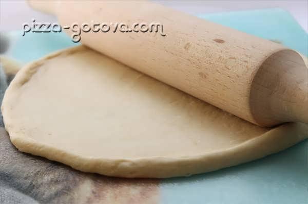 Дрожжевое тесто на молоке, фото