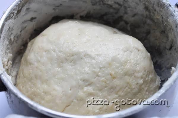 тесто на молоке для пиццы