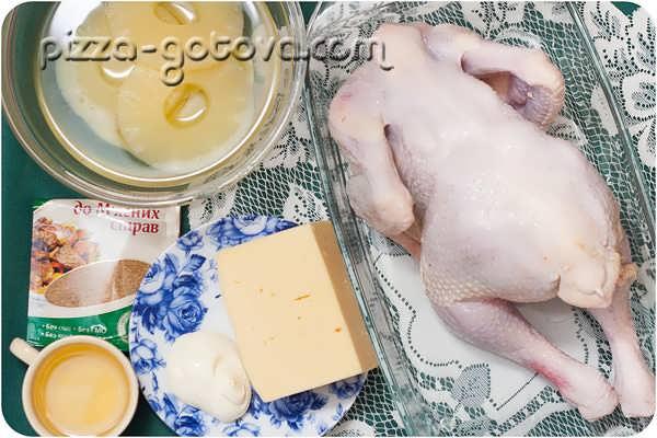 готовим курицу с ананасами