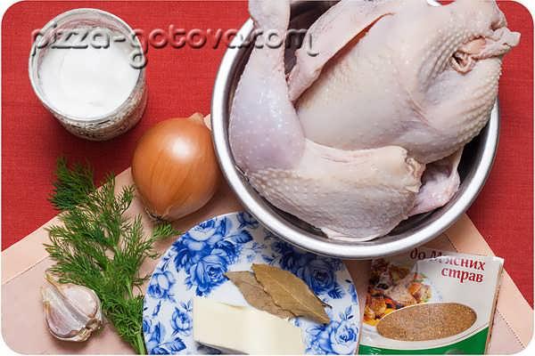 готовим курицу со сливками