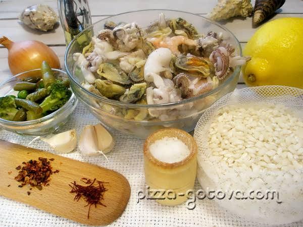 ингредиенты для паэльи