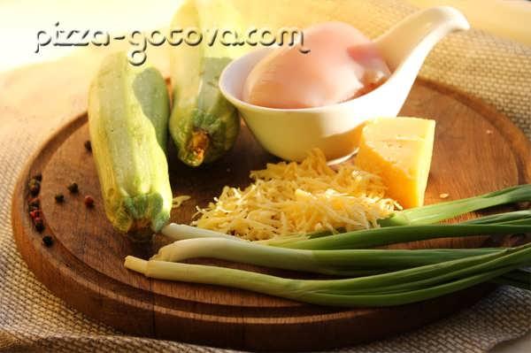 ингредиенты для запекания кабачков