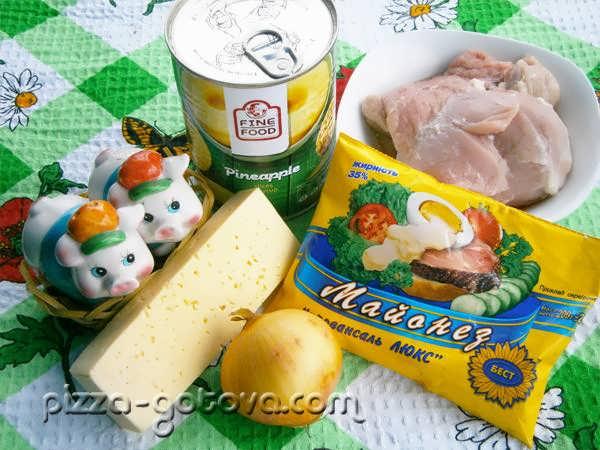 ингредиенты для запекания мяса