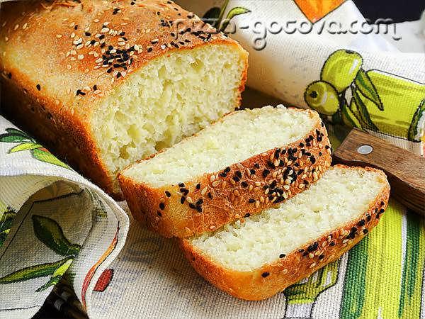 как испечь домашний хлеб в духовке фото