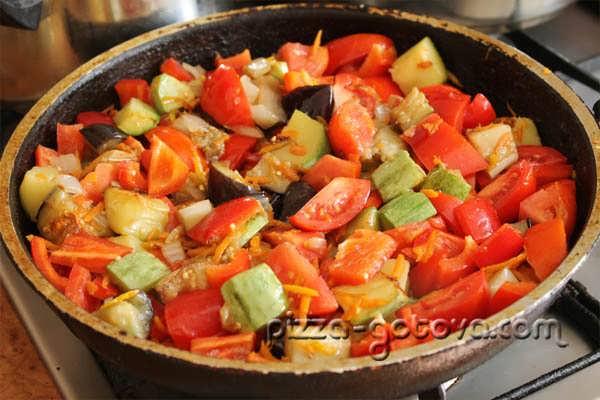 рагу овощное с кабачками и баклажанами рецепт с картошкой