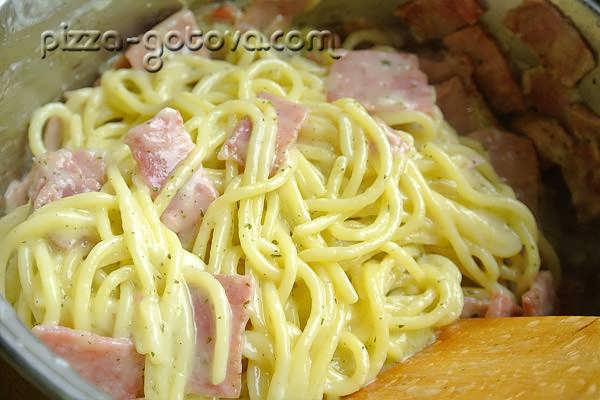 как приготовить спагетти карбонара
