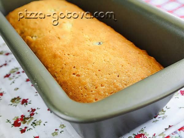 кекс с изюмом в духовке рецепты с фото
