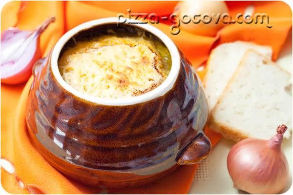 луковый суп по французски рецепт фото