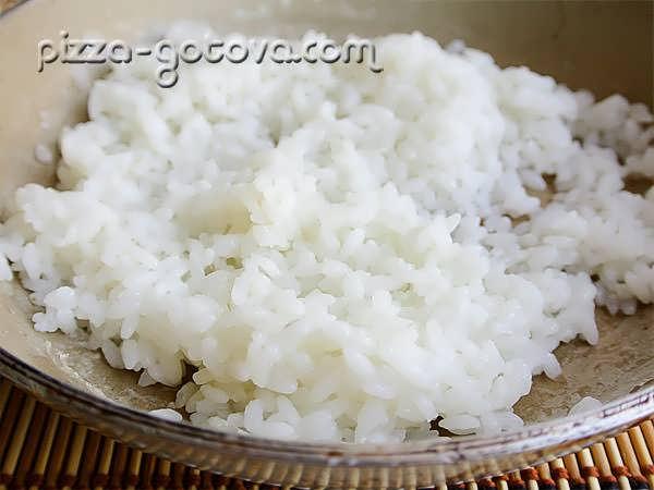 отваривается рис