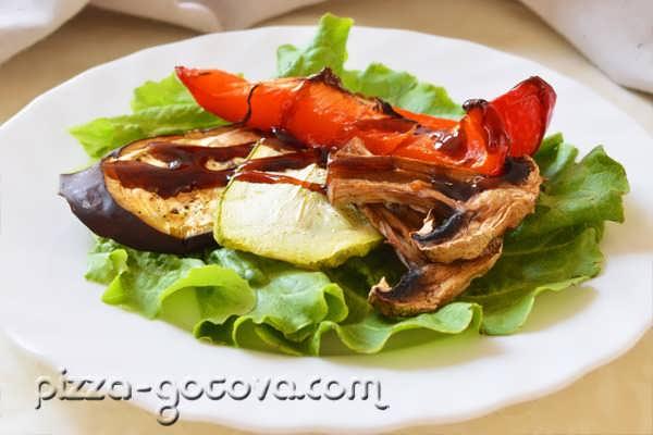 кабачок на гриле в духовке рецепт