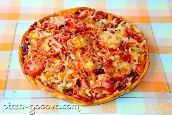 рецепт тесто на тонкую итальянскую пиццу