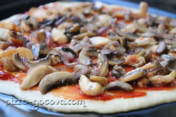 шампиньоны для пиццы