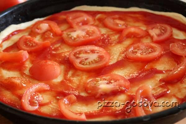 размещаем помидоры