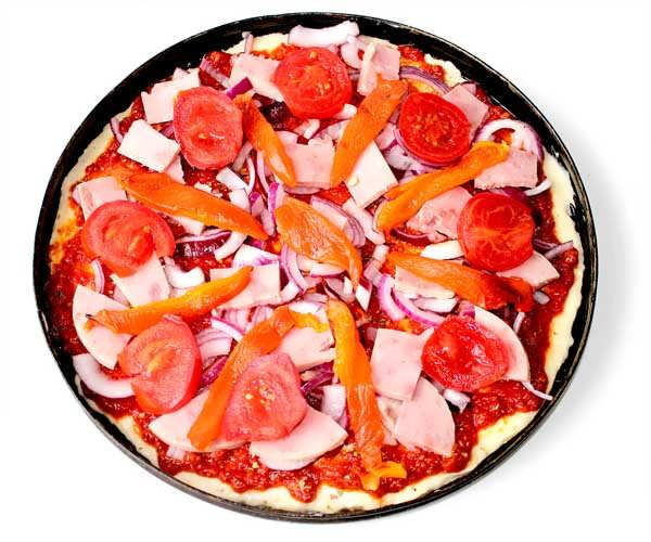 Пицца на кефире «Венеция»