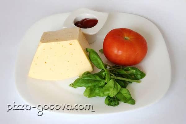 ингредиенты для пиццы Маргарита