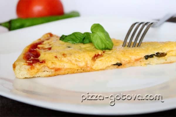 Пицца Маргарита с фото
