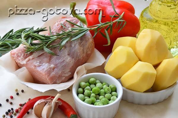 приготовления свинины с картофелем