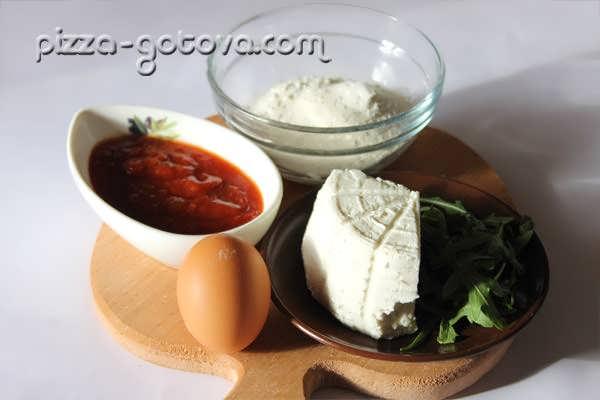 Ингредиенты для равиоли