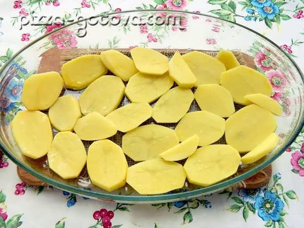 разкладываем картофель