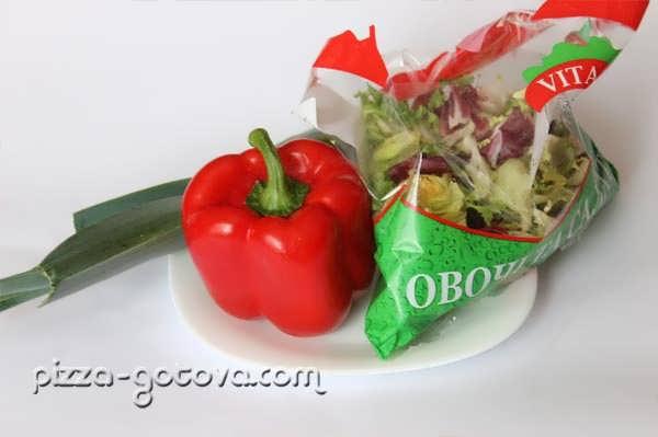 Ингредиенты для салата Италия