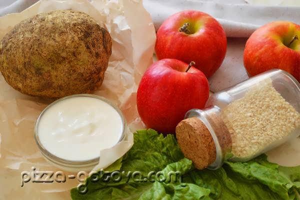 salat iz seldereya s yablokom (2)