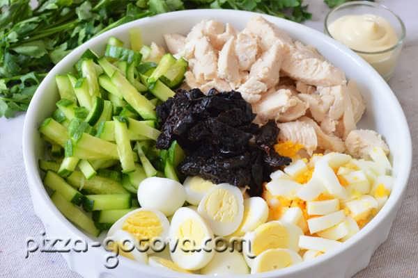 salat s chernoslivom i kuritsey (8)