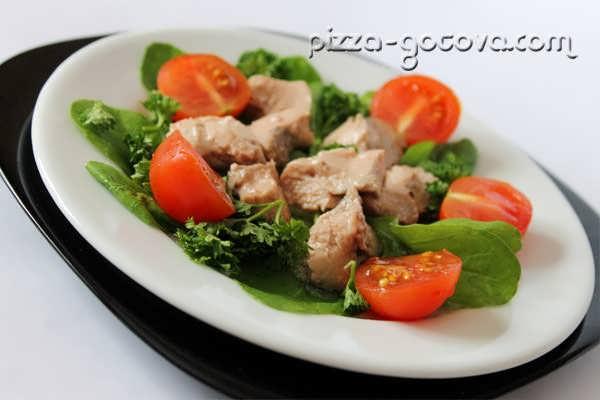 салат из печени трески, фото