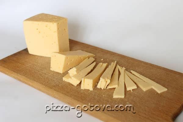 сыр кусочками