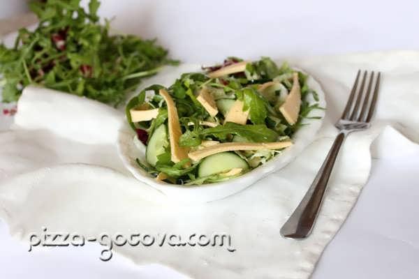 Салат с рукколой, фото