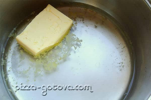 сливочное масло с-водой