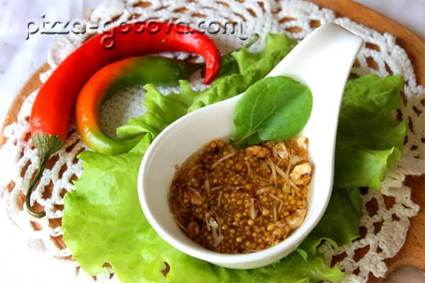 соус для салата цезарь