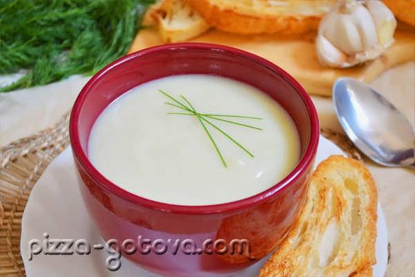 овощной суп пюре из капусты рецепт с фото