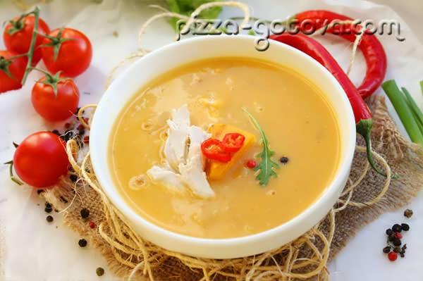 суп пюре из тыквы рецепт фото