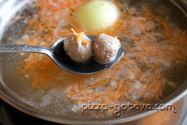 как делать фрикадельки для супа