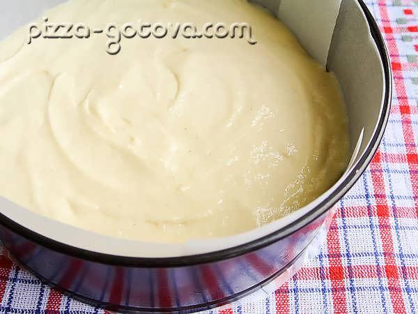 тесто для пирога на кефире фото
