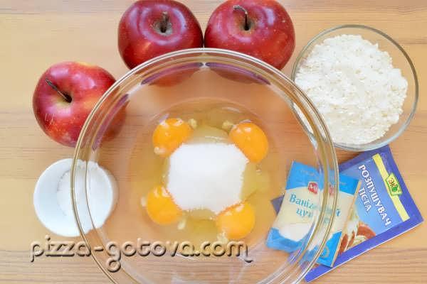 vkusnaya sharlotka s yablokami (2)