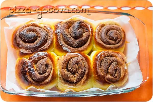 вкусные сладкие сдобные булочки фото