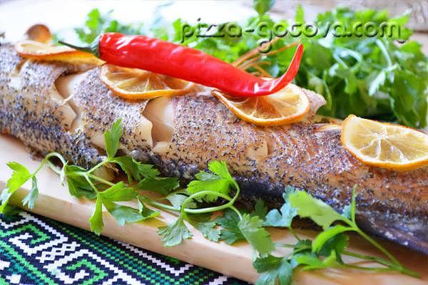 Щука в духовке - рецепты с фото на Повар.ру (26 рецептов щуки в духовке)