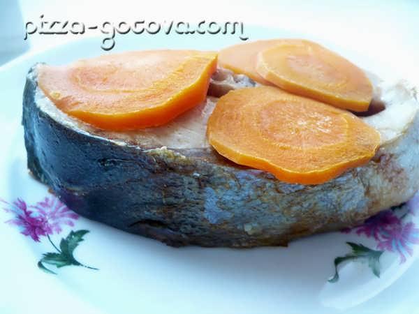 запеченный тунец в духовке фото